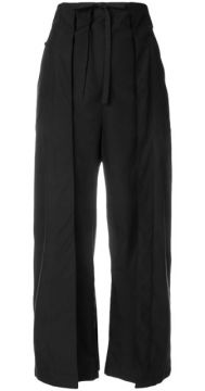 Wide Leg Cropped Trousers  - Aalto