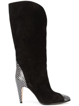 Python Trimmed Boots - Givenchy