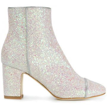 Ankle Boot Com Glitter - Polly Plume