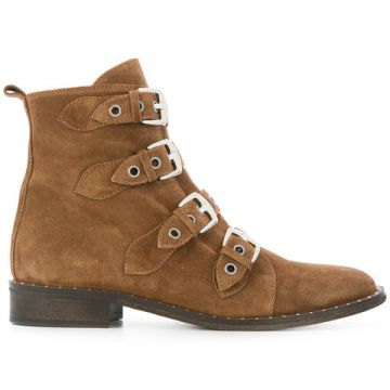 Multi-buckle Ankle Boots - Via Roma 15