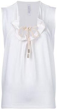 Drawstring Front Top - Carven