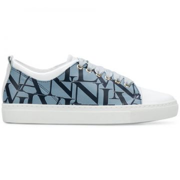 Logo Printed Low-top Sneakers - Lanvin