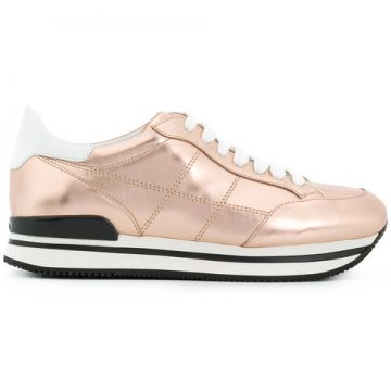 Almond Toe Lace-up Trainers - Hogan