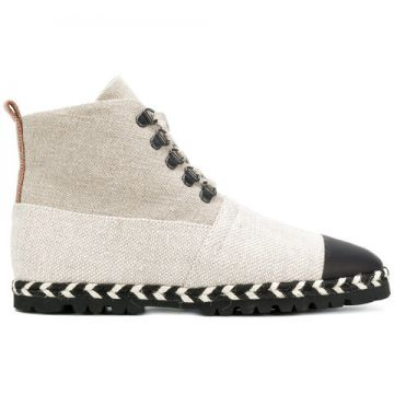 Lace-up Espadrille Boots - Jw Anderson