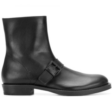 Buckled Ankle Boots - Ann Demeulemeester