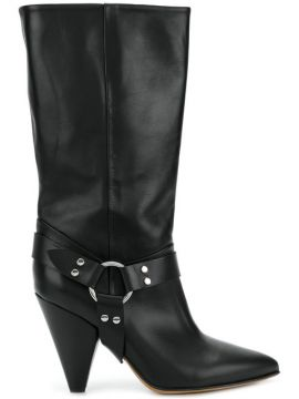 High Ankle Boots With Ring Detail - Buttero