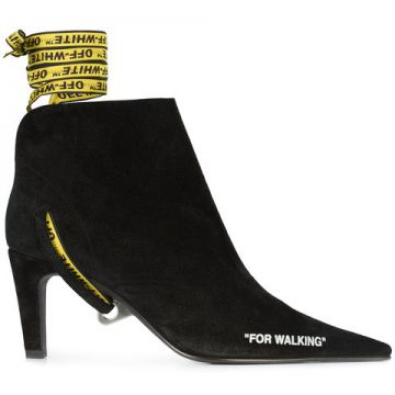 Ankle Boot for Walking - Off-white