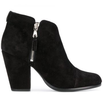 Side Zip Heeled Ankle Boots - Rag & Bone