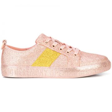 Glitter Flat Sneakers  - Opening Ceremony