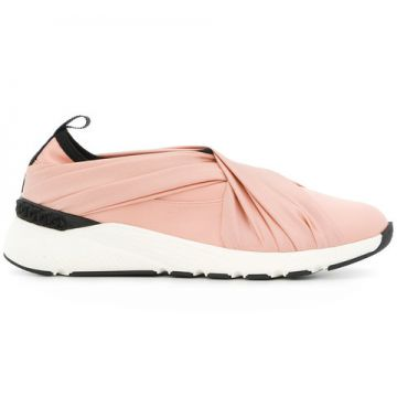 Draped Front Sneakers - Casadei