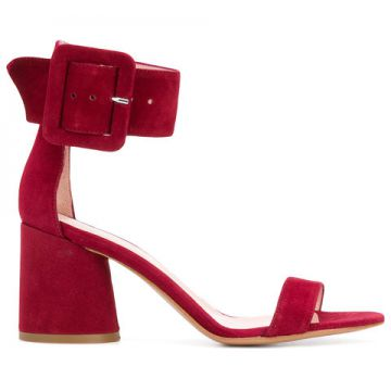 Buckle Ankle Sandals - Anna F.