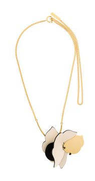Asymmetrical Shaped Necklace - Marni