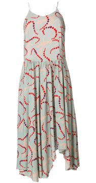 Slip Dress Estampado  - Erika Cavallini