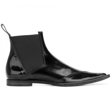 Pointed Toe Booties - Haider Ackermann