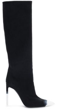Ombre Toe Cap Knee High Boots - Tom Ford