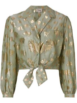 Camisa De Seda riviera - Temperley London