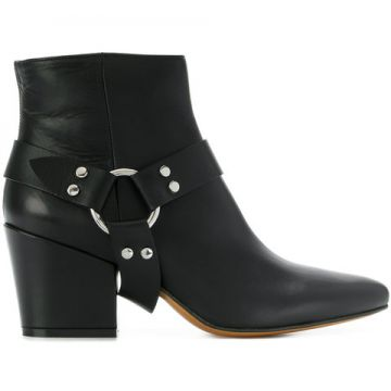 Adjustable Strap Ankle Boots - Buttero