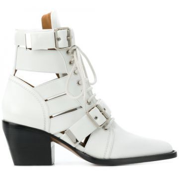 Ankle Boot De Couro rylee - Chloé