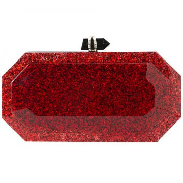 Clutch beth Com Brilho - Marchesa