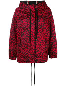 Leopard Print Hooded Jacket - Nº21