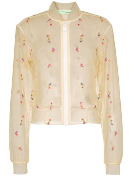 Jaqueta Bomber Floral x Browns - Off-white
