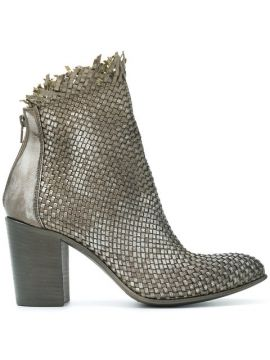 Weave Style Ankle Boots - Strategia