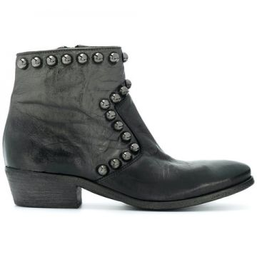 Studded Ankle Boots - Strategia