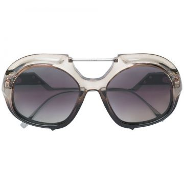 óculos De Sol Oversized Degradê - Fendi Eyewear