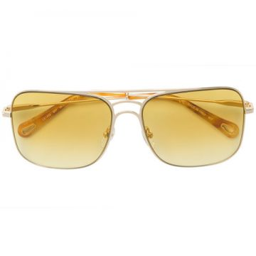 Oversized Aviator Sunglasses - Chloé Eyewear