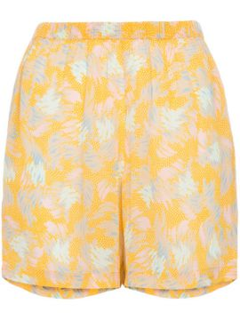 Yuna Print Crepe Short - A Peace Treaty