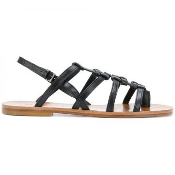 Flat Strappy Sandals - Clergerie