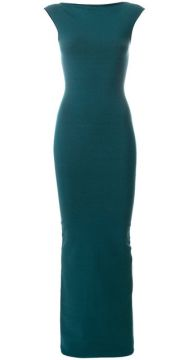 Vestido Longo Color Block - Dsquared2