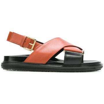 Cross Strap Sandals - Marni