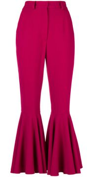 Flared Cuffs Trousers - Dolce & Gabbana