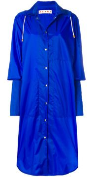 Long Extended Cuff Raincoat - Marni