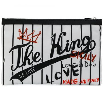 Pouch The King Clutch - Dolce & Gabbana
