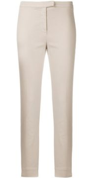 Cropped Slim Fit Trousers - Eleventy