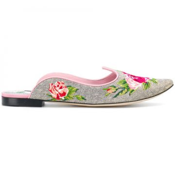 Floral Mules - Dolce & Gabbana