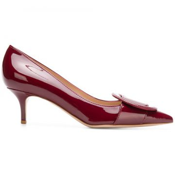 Pointed Buckle Pumps - Gianvito Rossi