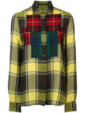 Camisa Xadrez Color Block  - Ermanno Scervino
