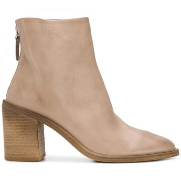 Ankle Boot Em Couro - Marsèll