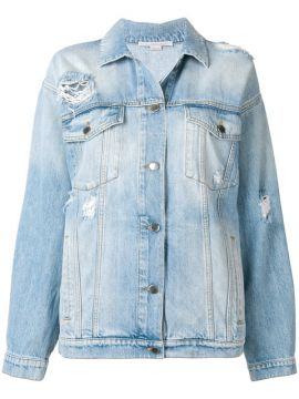 Jaqueta Jeans Oversized - Stella Mccartney