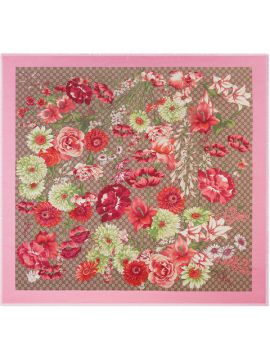 Spring Bouquet Modal Silk Shawl - Gucci