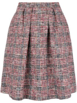 Saia Tweed Evasê - Ps By Paul Smith