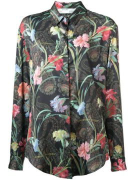 Camisa Floral - Off-white