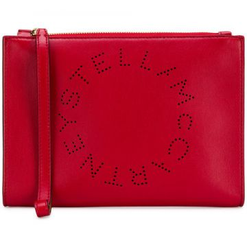 Logo Clutch Bag - Stella Mccartney