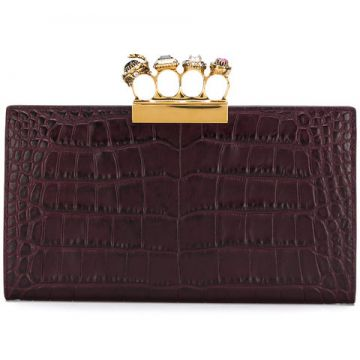 Jewelled Four-ring Clutch - Alexander Mcqueen
