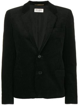 Blazer De Veludo - Saint Laurent