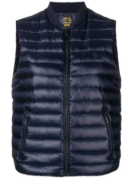 Logo Embroidered Padded Gilet - Polo Ralph Lauren