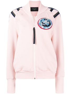 Jaqueta Bomber Com Patch - Mr & Mrs Italy